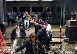 أكثر من 100 جريح في حادث اصطدام قطار في نيوجيرسي