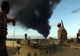 الجيش الليبي يتصدى لميليشيات تقدمت للهلال النفطي