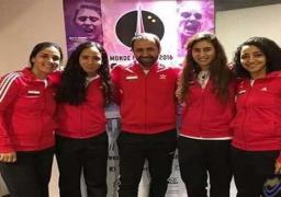 وزير الرياضة يشيد بوصول بمنتخب سيدات الإسكواش  لبطولة العالم