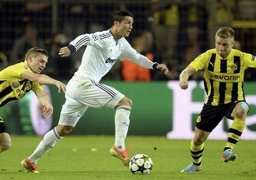 قمة ساخنة بين ريال مدريد ودورتموند بدوري الأبطال