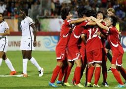 كوريا الشمالية بطلة للعالم بكرة القدم