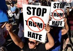اكثر من الف شخص يتظاهرون ضد ترامب في مكسيكو