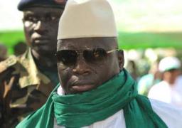 الرئيس الغامبي السابق يغادر بلاده إلي العاصمة الغينية مالابو