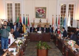 البيان الختامي لدول جوار ليبيا يرفض أي تدخل عسكري أجنبي ويدعو إلى تكوين حكومة وفاق وطني