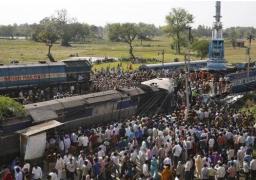 ارتفاع عدد القتلى فى حادث قطار الهند إلى 32 و اكثر من 50 مصابا
