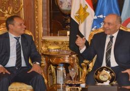 بالصور.. اللجنة المصرية تبحث مع نواب ليبيين تسوية الأزمة الليبية