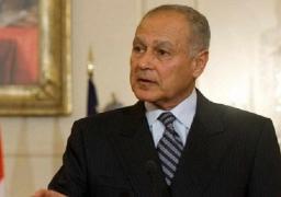 أبو الغيط: إطلاق العقد العربي لمنظمات المجتمع المدني لتحقيق التنمية المستدامة