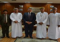بالصور.. هيكل يبحث تعزيز التعاون مع وفد عماني