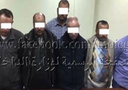 ضبط 19 من اتباع قائد الجناح المسلح للجماعة الإرهابية بالإسكندرية