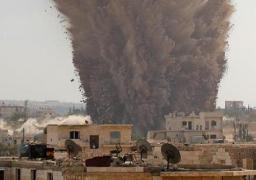 مصرع وإصابة 9 أطفال جراء سقوط قذائف بحلب