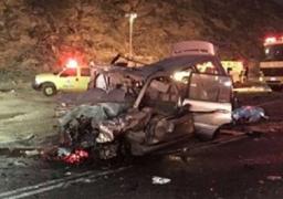 مقتل طفل وإصابة 60 شخصا في تصادم 130 سيارة في إيران