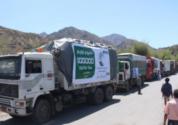 الحوثيون يحتجزون قافلة مساعدات طبية في طريقها لتعز