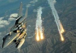 التحالف العربى يستهدف كهفين بصنعاء يستخدمهما الحوثيين فى عملياتهم الإرهابية