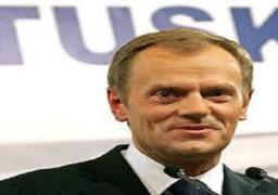 توسك : الاتحاد الاوروبي والولايات المتحدة مختلفان حيال روسيا