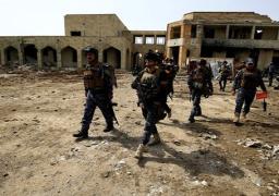 الشرطة العراقية تتوغل 150 مترا بالموصل
