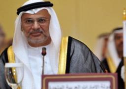 وزير الخارجية الاماراتى : قطر لم تحترم طريقة عمل الوسيط بعد تسريب المطالب
