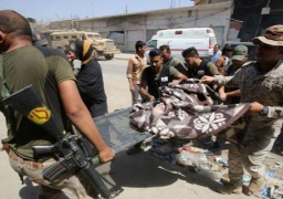 12 قتيلا في تفجير انتحاري وسط مدنيين نازحين بالموصل
