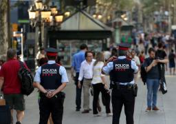 أربعة مشتبه بهم في هجوم برشلونة يمثلون أمام المحكمة العليا بمدريد