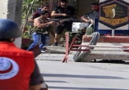 اشتباكات عنيفة في مخيم عين الحلوة للاجئين الفلسطينيين فى لبنان