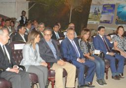 وزيرا الآثار والاستثمار يشهدان افتتاح مشروع تطوير منطقة منف الآثرية