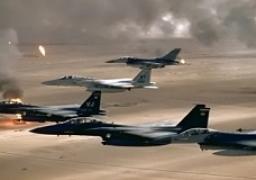 التحالف العربي يقصف مواقع للمتمردين الحوثيين على الحدود مع السعودية