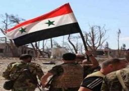 الجيش السوري يقضي على تجمعات لداعش على نهر الفرات