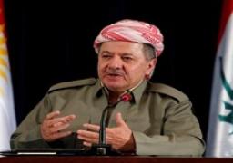 """برزاني يوجه بيانا لحث الأكراد على """"تفادي حرب أهلية"""""""