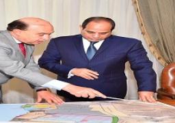 اجتمع الرئيس عبد الفتاح السيسي اليوم مع السيد الفريق مهاب مميش رئيس هيئة قناة السويس ورئيس الهيئة العامة الاقتصادية لمنطقة القناة