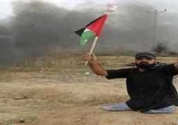 استشهاد شابين في غزة احدهما مبتور القدمين في مواجهات مع الاحتلال الإسرائيلي