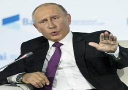 """بوتين: الاتهامات بتدخل روسيا في الانتخابات الاميركية """"مفبركة"""""""