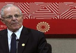 رئيس البيرو يرفض الاستقالة بعد فضيحة فساد