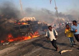 ضحايا تفجير الصومال يزيد لـ37 قتيلا ومصابا