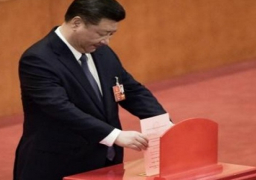 البرلمان الصيني ينتخب بالاجماع شي جين بينج رئيسا لولاية جديدة