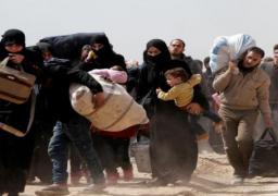 مركز المصالحة الروسي: خروج 11 ألف مدني من الغوطة الشرقية حتي الآن