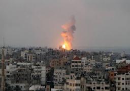 طائرات الاحتلال  الاسرائيلي تقصف أهداف متفرقة بقطاع غزة