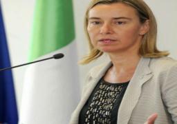 موجيريني تدعو روسيا وإيران وتركيا للوفاء بتعهداتها من أجل وقف القتال في سوريا