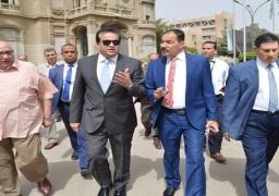 وزير التعليم العالى يتفقد جامعة عين شمس