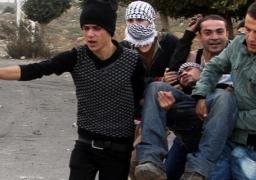 إصابة فلسطينيين برصاص الاحتلال الإسرائيلي على مدخل النبي صالح