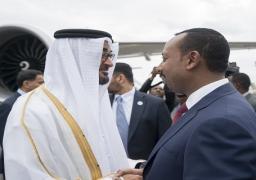 توقيع مذكرات تفاهم بين الإمارات وأثيوبيا