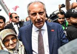 منافس أردوجان الأقوى يدلي بصوته في الانتخابات التركية.