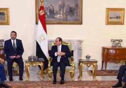 السيسي يبحث سبل تعزيز العلاقات و التعاون بين مصر وإيطاليا