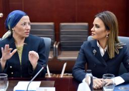 وزيرتا الاستثمار والبيئة تبحثان مع بعثة البنك الدولى توفير منح لمصر
