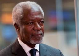 وفاة كوفي عنان الأمين العام السابق للأمم المتحدة