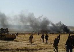 اشتباكات عنيفة بين قوات سوريا الديمقراطية وداعش بدير الزور