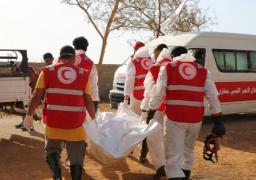 الهلال الأحمر الليبي يعثر على مقبرة جماعية فى درنة تضم 22 جثة
