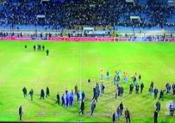 إلغاء مباراة الإسماعيلي والافريقي التونسي بعد اعتراضات الجماهير