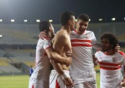 الزمالك يهزم اتحاد طنجة 3 / 1 ويتأهل لدور المجموعات بالكونفدرالية
