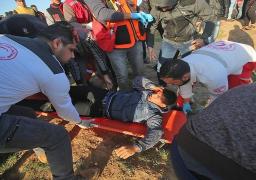 بالصور..إصابة 8 فلسطينيين برصاص جيش الاحتلال شرق قطاع غزة