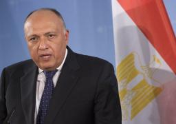 شكري: مصر تدعم أمن واستقرار لبنان وتشكيل حكومة وفاق