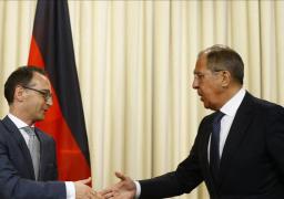 لافروف يبحث ونظيره الألماني الوضع حول معاهدة الصواريخ وأزمة سوريا
